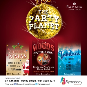Ramada New Year Hoarding