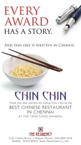 Residency Chin Chin Ad